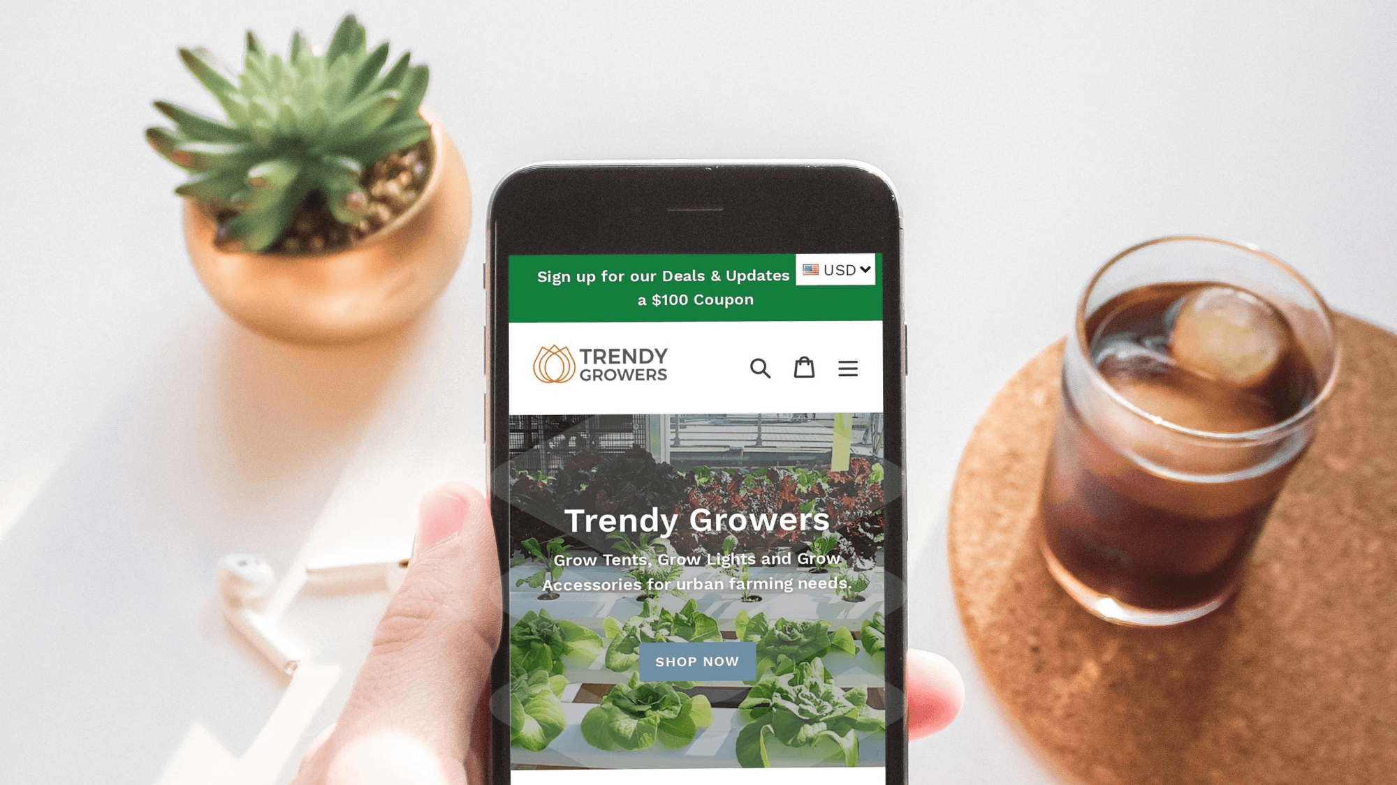 casestudies trendygrower mobile responsive design