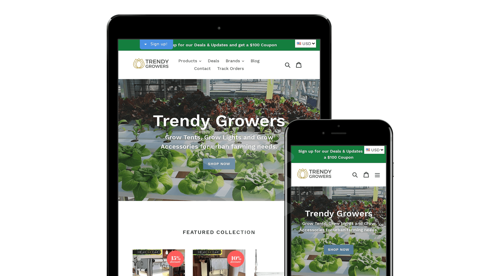 digital marketing casestudies trendygrower large ecommerce website